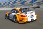 Bernhard, Dumas and Rockenfeller pilot Porsche 911 GT3 R Hybrid at Road Atlanta Oct 2nd, 2010