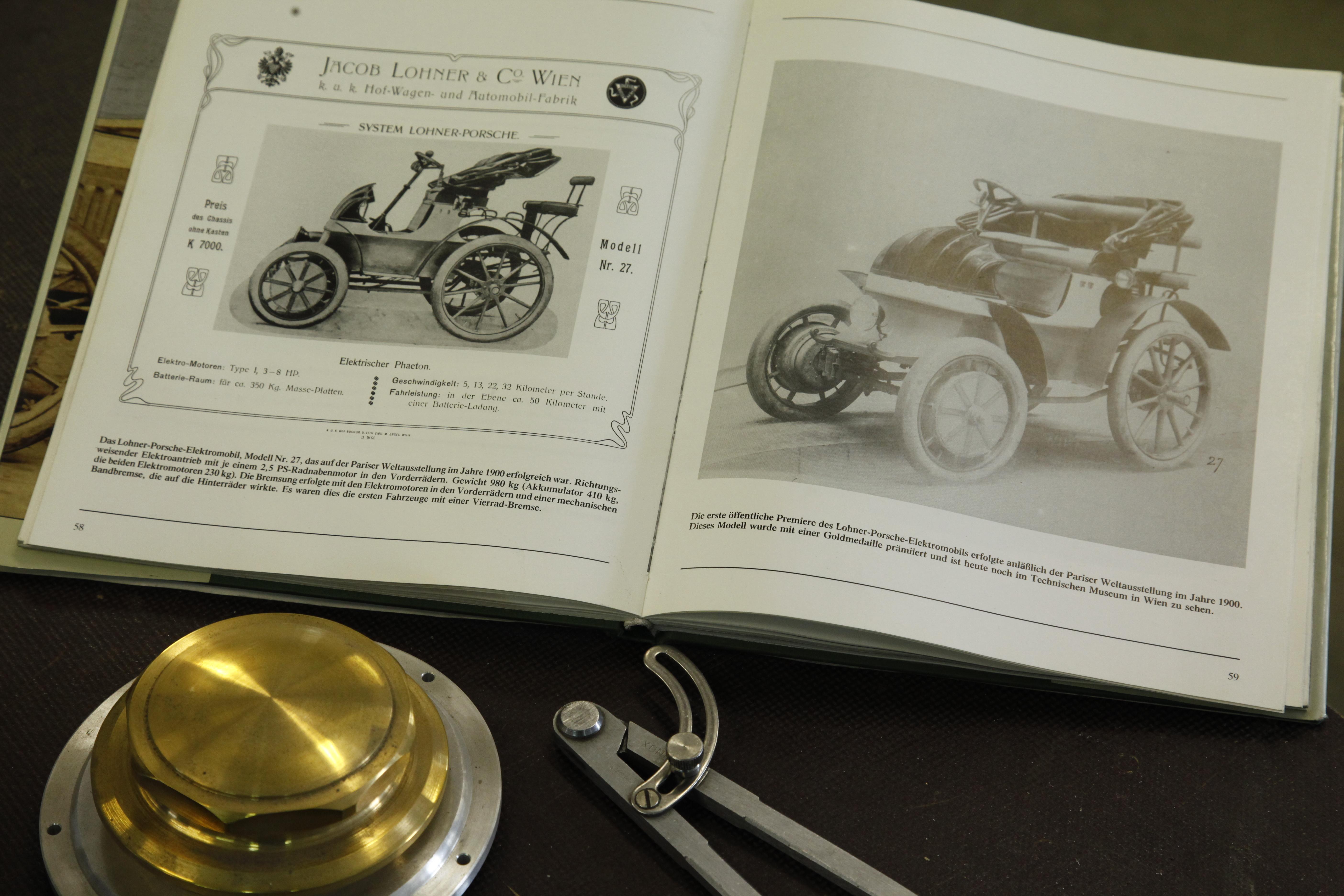 PORSCHE: Prof. Ferdinand Porsche Created The First Functional Hybrid ...