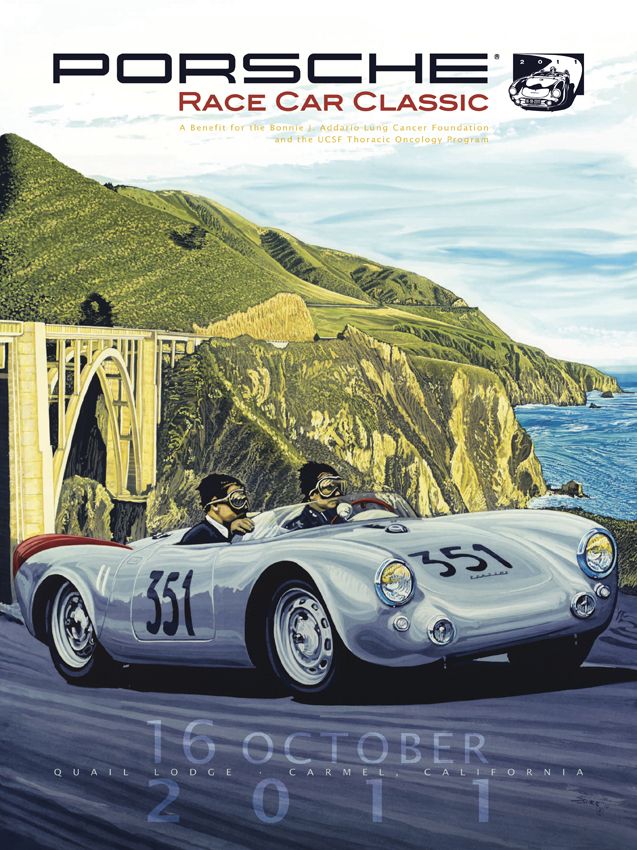 Porsche Race Car Classic Shows Off Official Poster For Oct