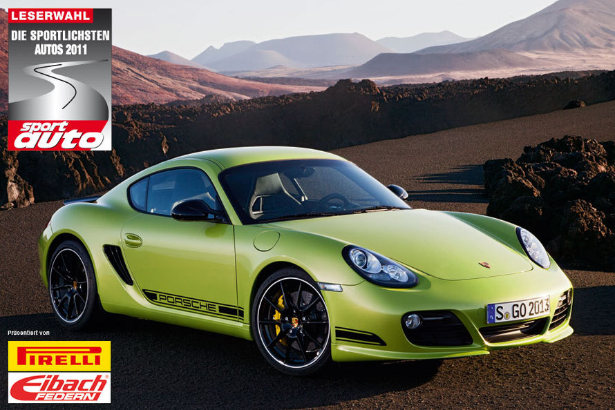 porsche is the big winner of the sportiest car of 2011