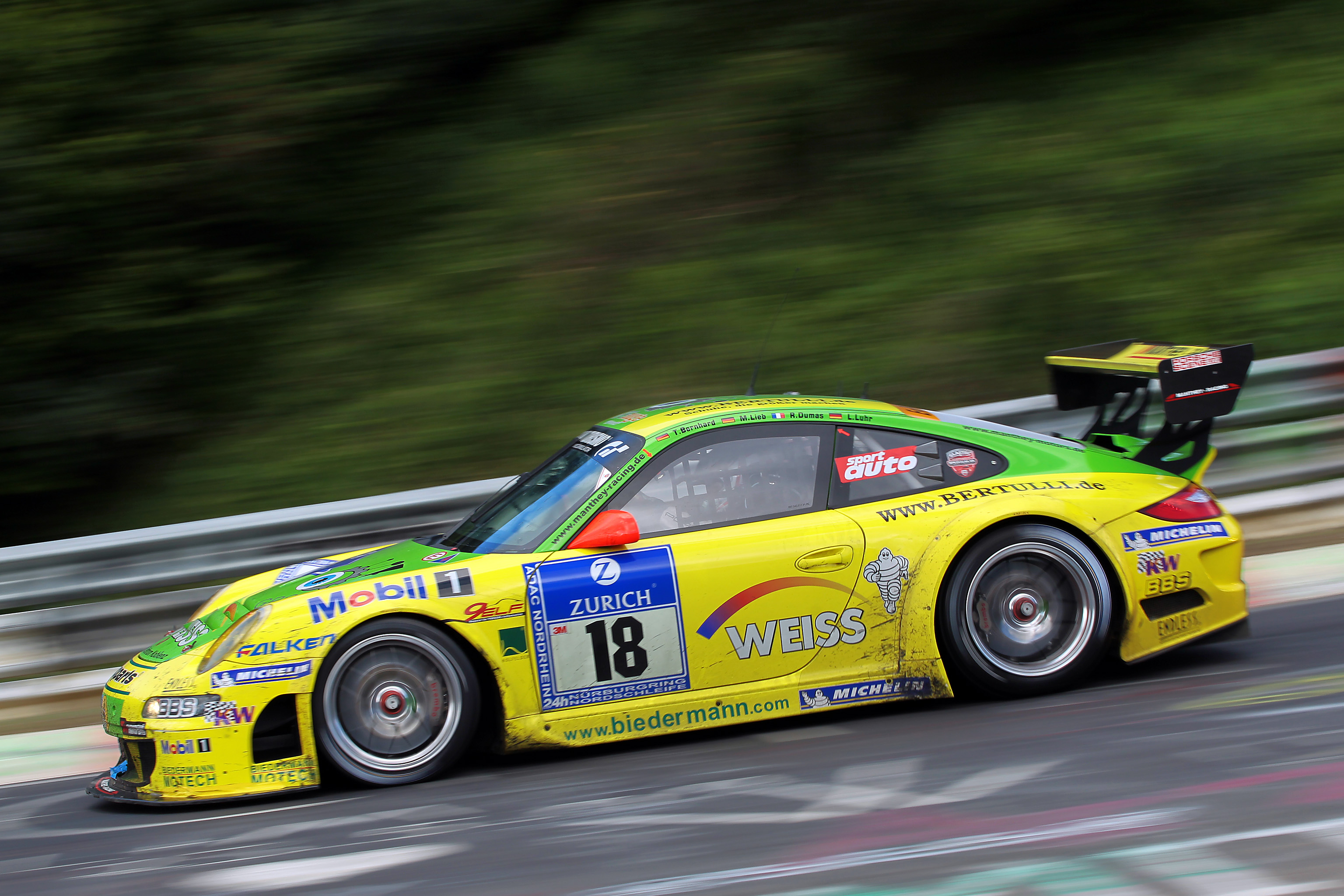 Porsche s magnificent triumph at the Nordschleife 24 Hour Race