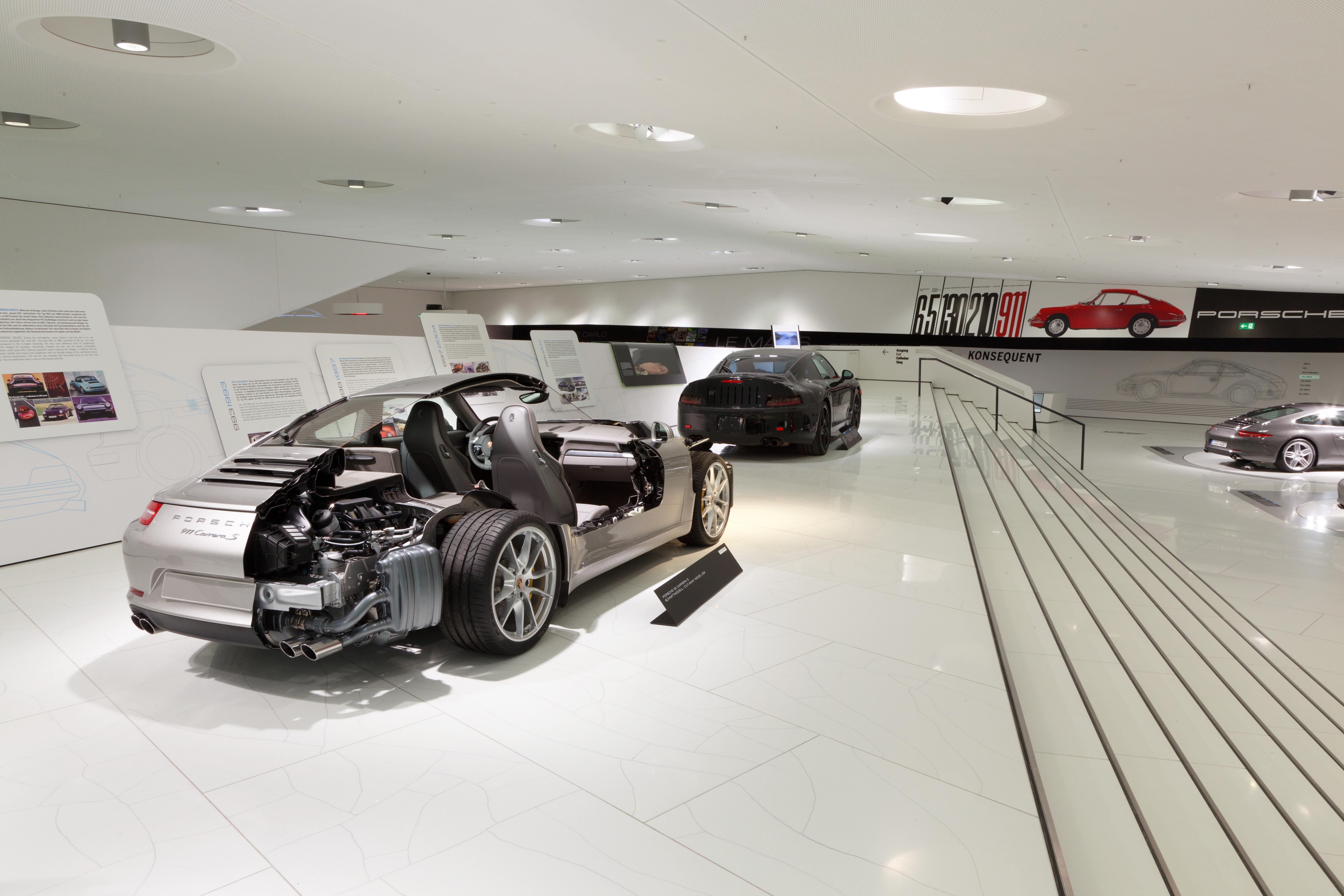 Porsche Museum In Stuttgart Zuffenhausen Porsche