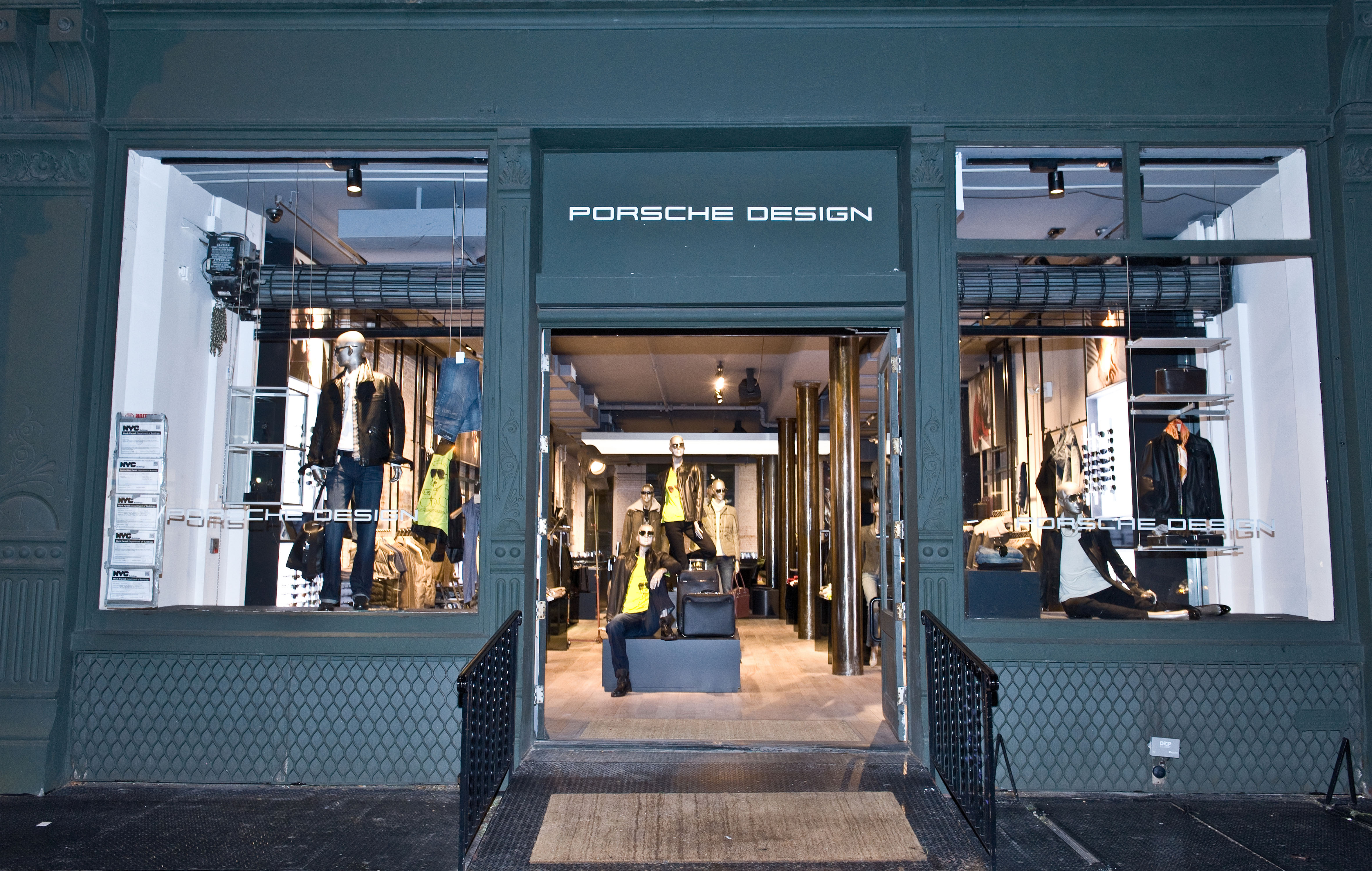world s largest porsche design store in soho 2nd store in new york porsche everyday. Black Bedroom Furniture Sets. Home Design Ideas