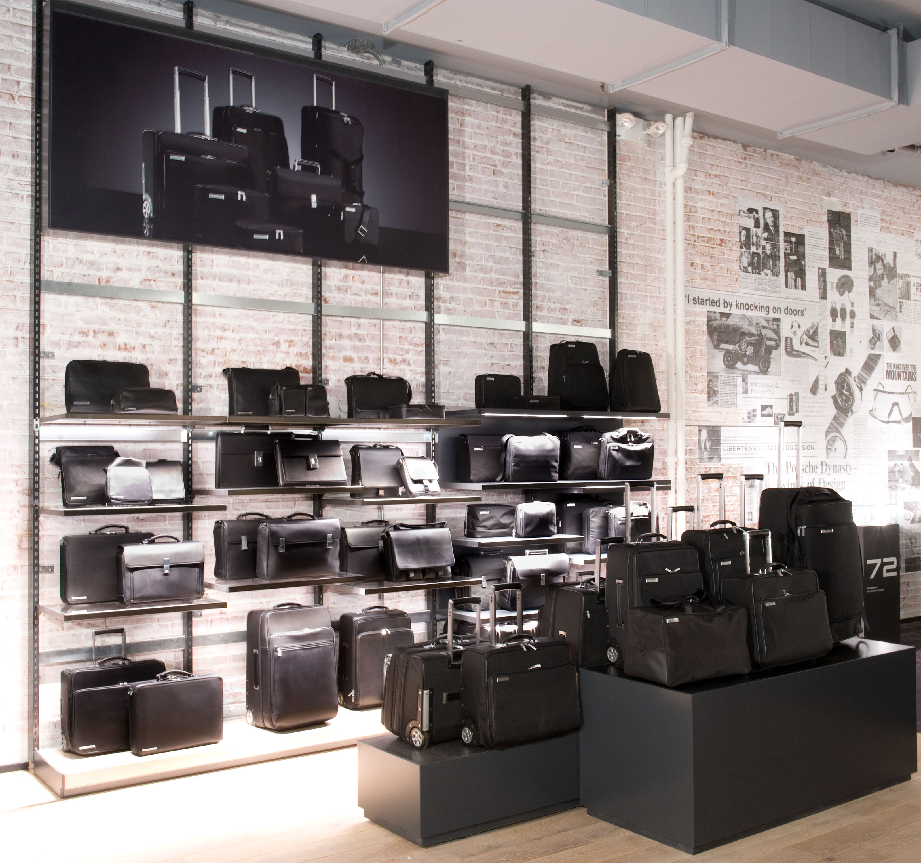 World S Largest Porsche Design Store In Soho 2nd Store
