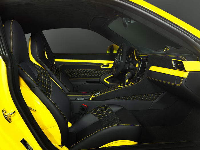 For The Interior Of The Sports Car There Is A Range Of The Materials