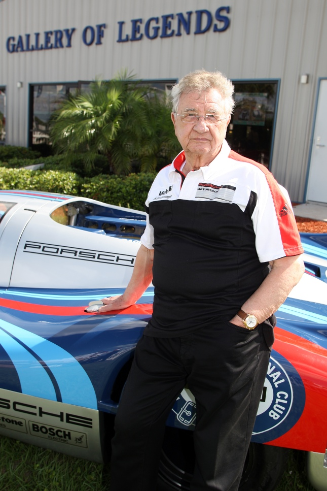 Hans Herrmann in Sebring Hall of Legends - Season 2012 - Source: Porsche AG