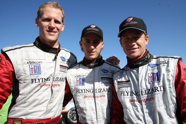 Joerg Bergmeister, Marco Holzer and Patrick Long
