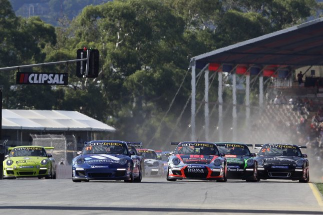 Todd Kelly of the Jack Daniel's Racing team March 03, 2012 Start Carrera Cup Australia - Season 2012 - Source: Porsche AG