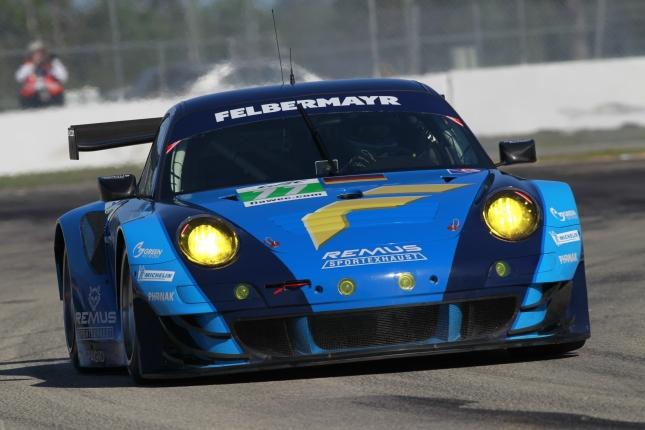 Motorsports: Season: Season 2012 Title: Porsche 911 GT3 RSR, Felbermayr-Proton: Marc Lieb, Richard Lietz, Patrick Pilet 12h Sebring