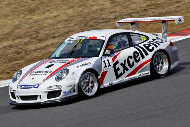 Porsche 911 GT3 Cup: Shinichi Yamaji Carrera Cup Japan - Season 2012 - Source: Porsche AG