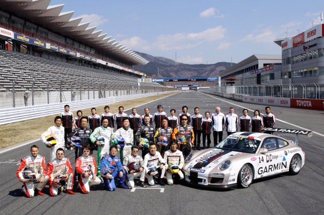 Carrera Cup Japan - Season 2012 - Source: Porsche AG