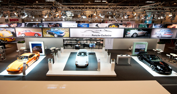 The Techno Classica in Essen – the world's leading motor show for classic cars