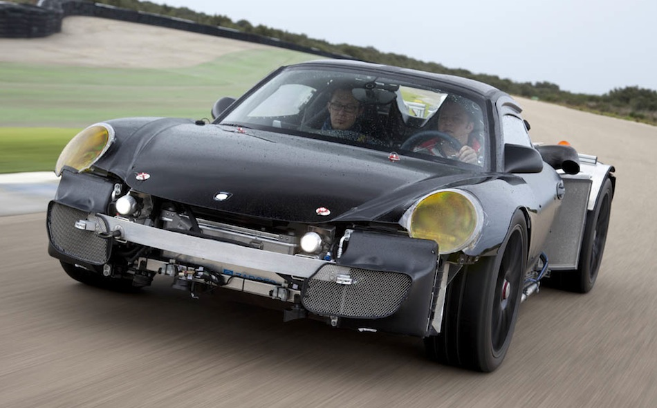 Porsche 918 Spyder Prototype Goes For A Test Drive