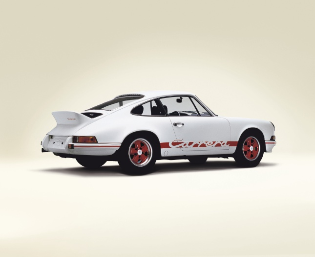 40th anniversary for the Porsche 911 Carrera RS 2.7