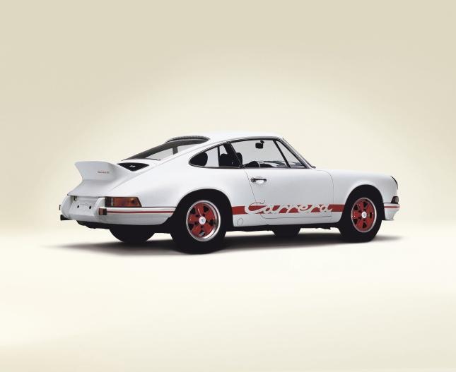 40th anniversary for the Porsche 911 Carrera RS 2.7