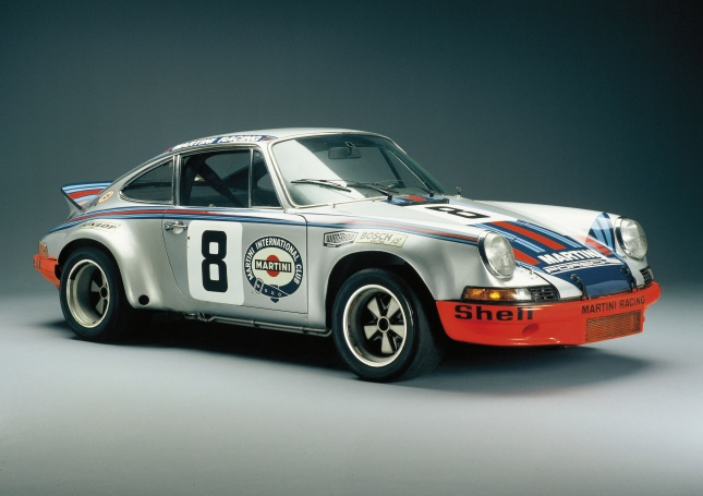 Porsche 911 RSR - built in 1973, 330 hp