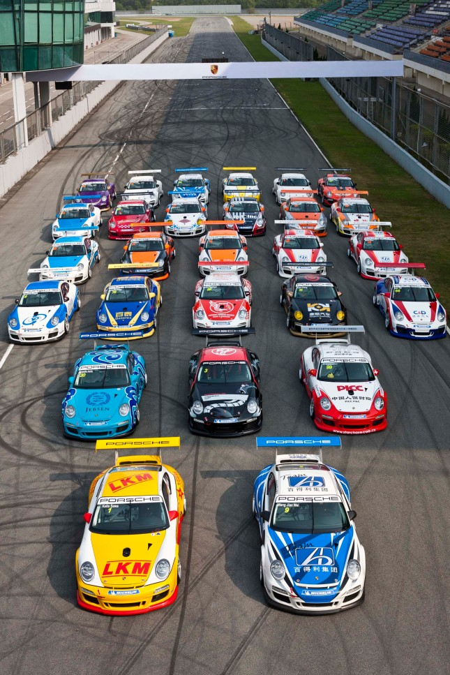 Porsche Carrera Cup Asia - Season 2012 - Source: Porsche AG