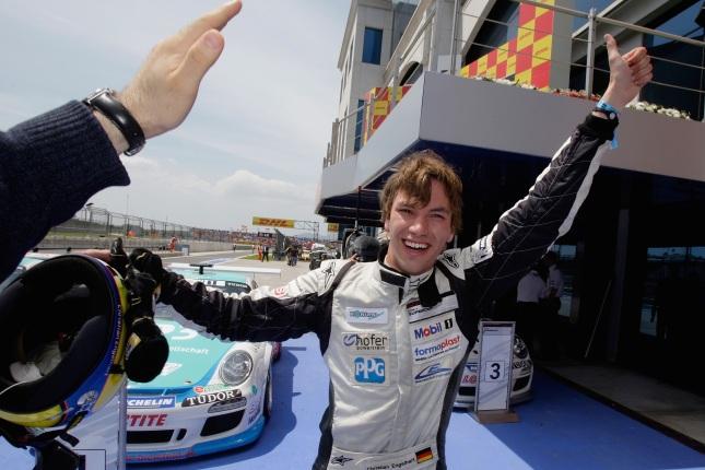 Christian Engelhart (D) Porsche Mobil 1 Supercup 2011