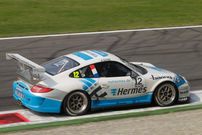 Kevin Estre (F) Porsche Mobil 1 Supercup Italien 2011