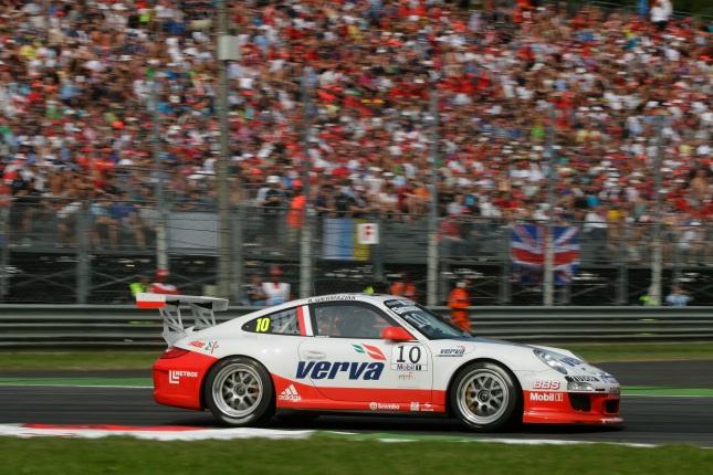 Kuba Giermaziak (PL) Porsche Mobil 1 Supercup Italien 2011