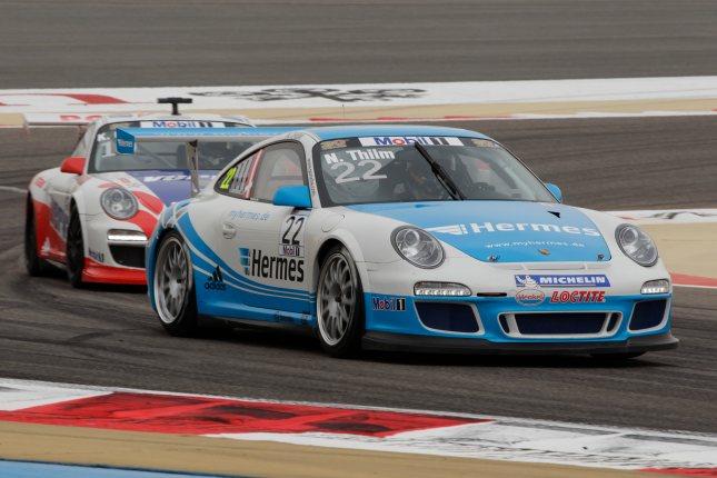 Nicki Thiim (DK) Porsche Mobil 1 Supercup Bahrain 2012