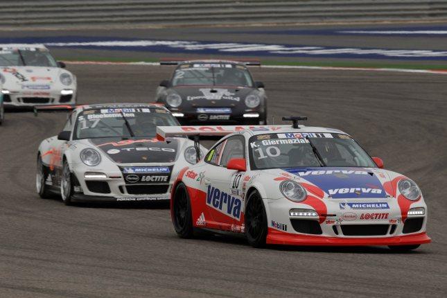 Kuba Giermaziak (PL) Porsche Mobil 1 Supercup Bahrain 2012