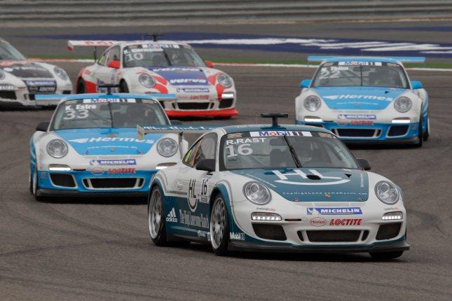 René Rast (D) Porsche Mobil 1 Supercup Bahrain 2012