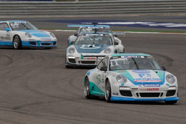 Christian Engelhart (D) Porsche Mobil 1 Supercup Bahrain 2012