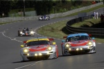 Porsche 911 GT3 RSR, Flying Lizard Motorsports: Spencer Pumpelly, Patrick Pilet, Seth Neiman (79) - Jörg Bergmeister, Patrick Long, Marco Holzer (80)