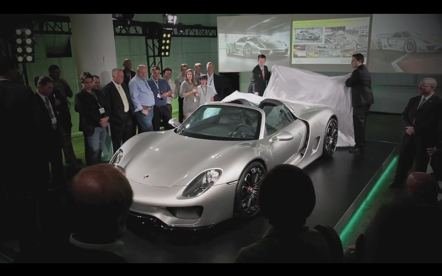 porsche will reportedly build just 918 examples of the hybrid sports car pricing information will be revealed closer to its launch