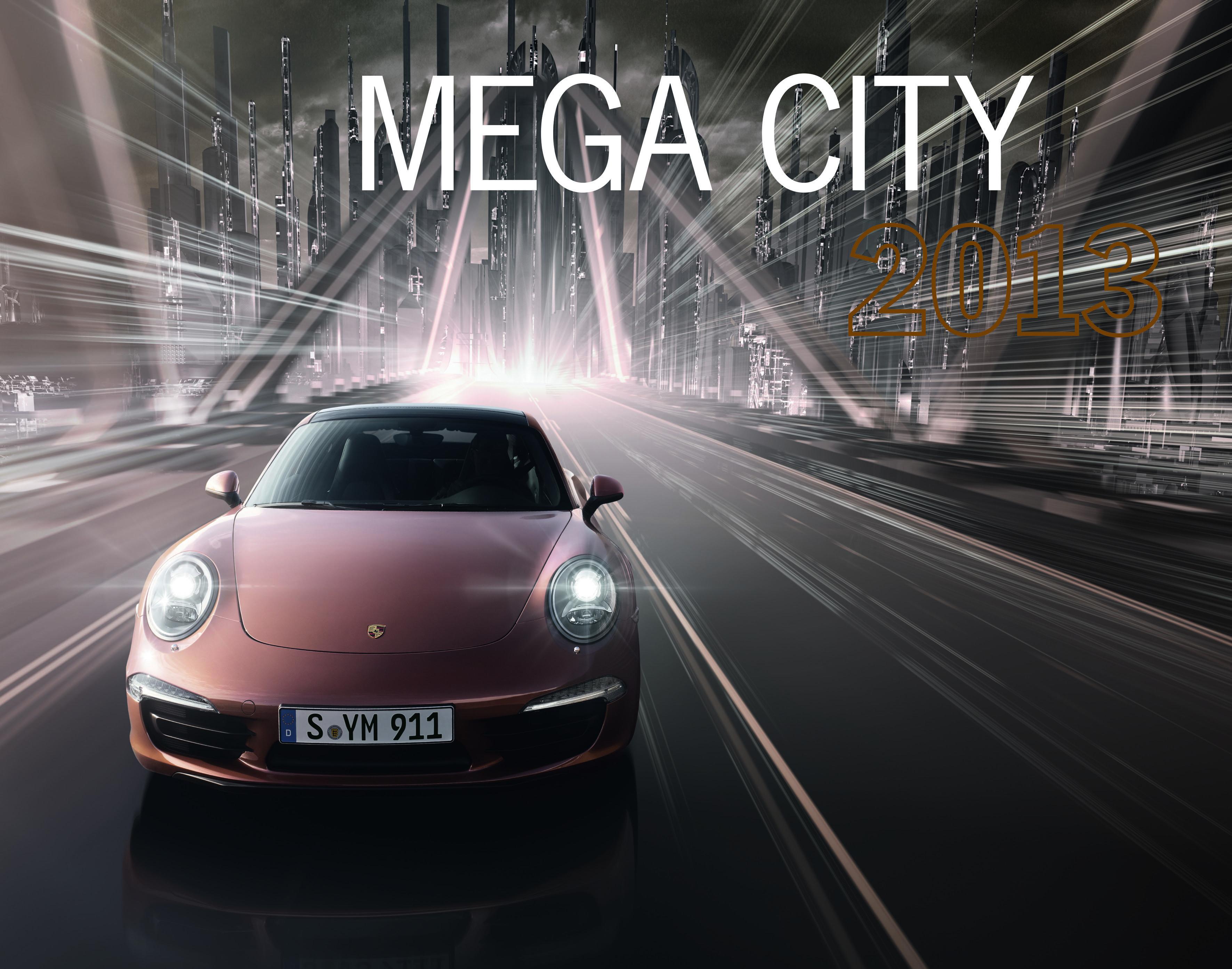 2bf8c4eff71 Porsche Calendar  Mega City 2013