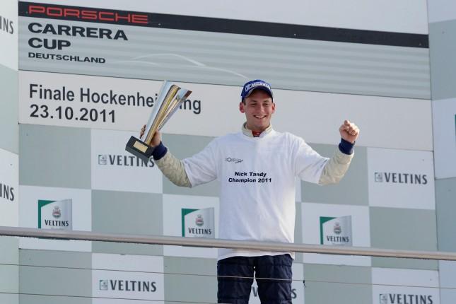 Nick Tandy (GB)Porsche Carrera Cup Deutschland - 09 Hockenheimring 2011