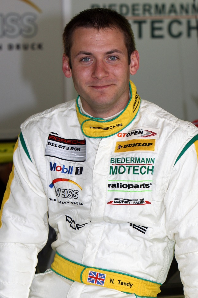 International GT Open, Barcelona, Nick Tandy (GBR)