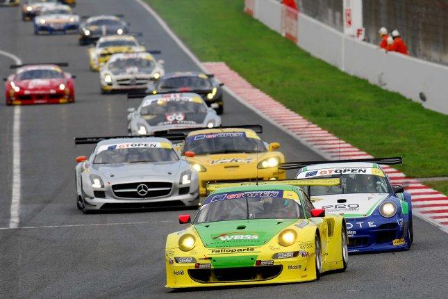 International GT Open, Barcelona, Manthey-Racing, Porsche 911 GT3 RSR, Marco Holzer (GER), Nick Tandy (GBR)