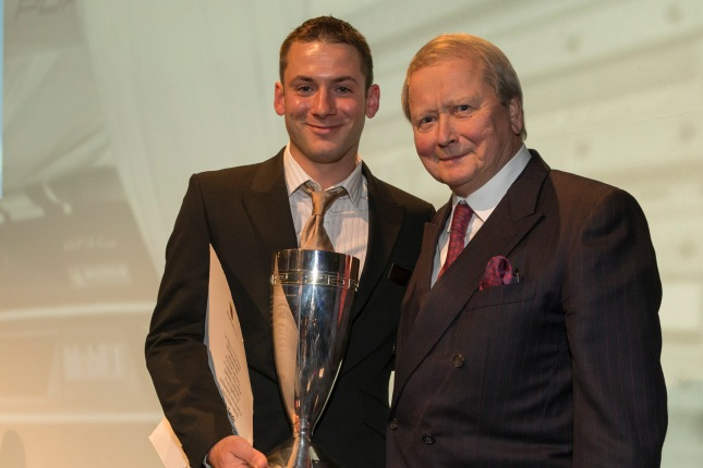 Nick Tandy Winner Porsche Cup, Dr. Wolfgang Porsche Chairman of the Supervisory Board