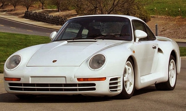 Only two examples of Porsche 959 factory prototypes are in running condition. (Photo: Barrett-Jackson)
