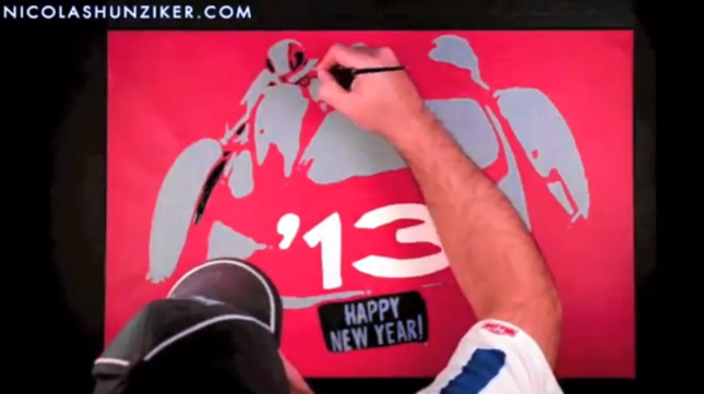Happy New Year 2013   Nicolas Hunziker Automotive Fine Art   YouTube