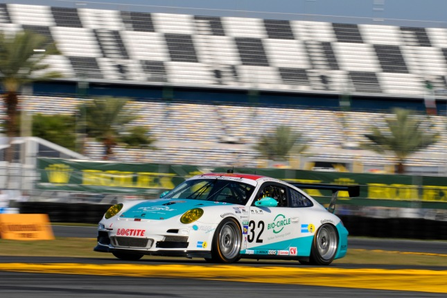 Porsche 911 GT3 Cup, Konrad Motorsport/Orbit: Nick Tandy, Michael Christensen, Christian Engelhardt, Lance Willsey