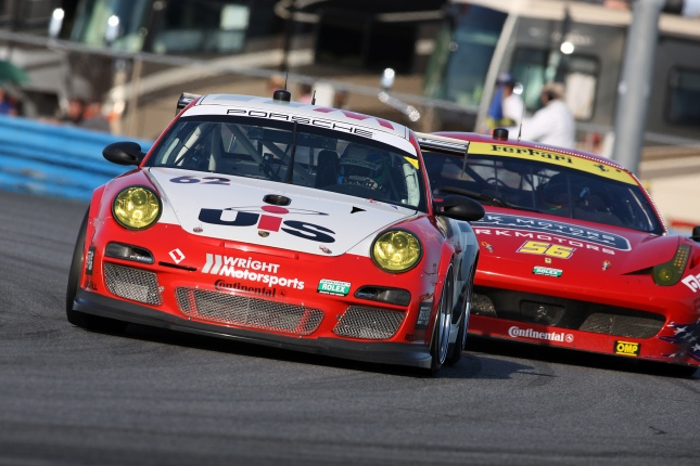 Porsche 911 GT3 Cup, Snow Racing/Wright Motorsports: Madison Snow, Melanie Snow, Sascha Maassen Marco Seefried, Klaus Bachler
