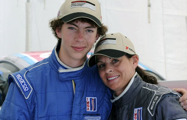 Madison and Melanie Snow Professional racing drivers  Photo source: autoblog.com
