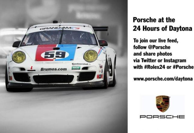 Porsche at 24 Hours of Daytona