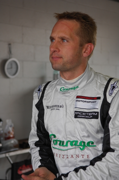 Top Porsche driver and instructor Marco Seefried of Wemding, Germany, 36