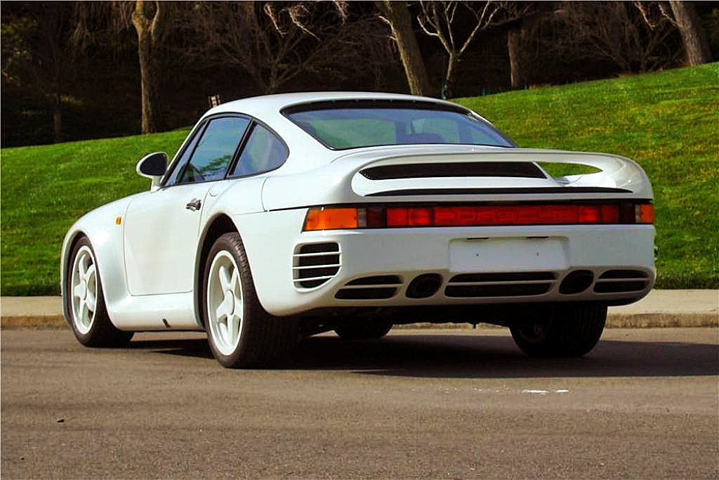 Update Ultra Rare Porsche 959 Prototype Sold At Barrett Jackson