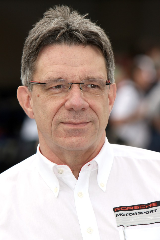 Hartmut Kristen, Head of Porsche Motorsport