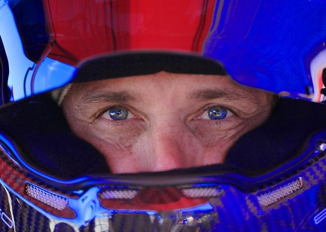 Patrick DempseyALMS LAGUNA SECA 2012.USAGE:  Dempsey Racing web site and press material only..Photo:  ©2012 Rick Dole.904.806.0362.radole@earthlink.net