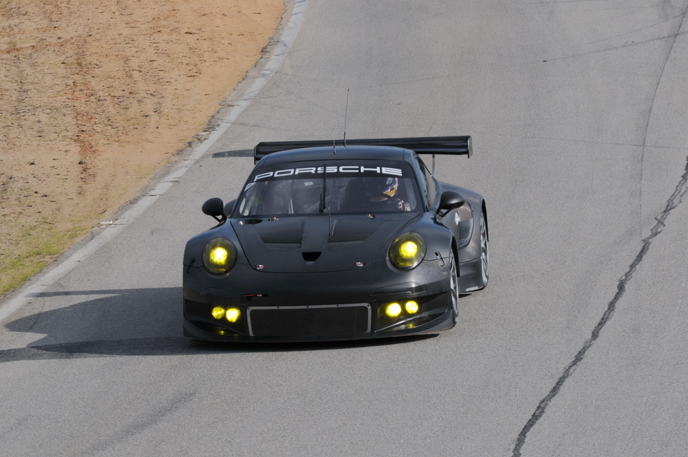 New Porsche 911 Rsr Successfully Concludes Test Drives Season