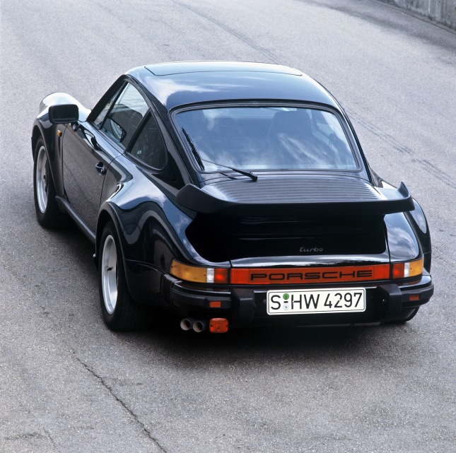 Porsche 911 Turbo 3.3 Coupé, 1986