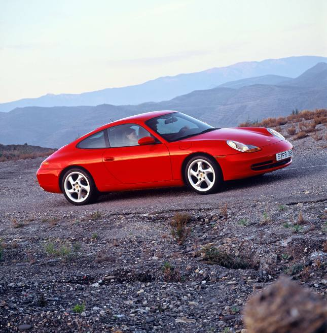 Porsche Type 911 Carrera 3.4 Coupé, 1998