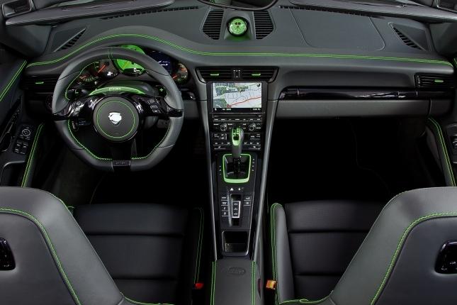 TECHART Carrera 4S Interior