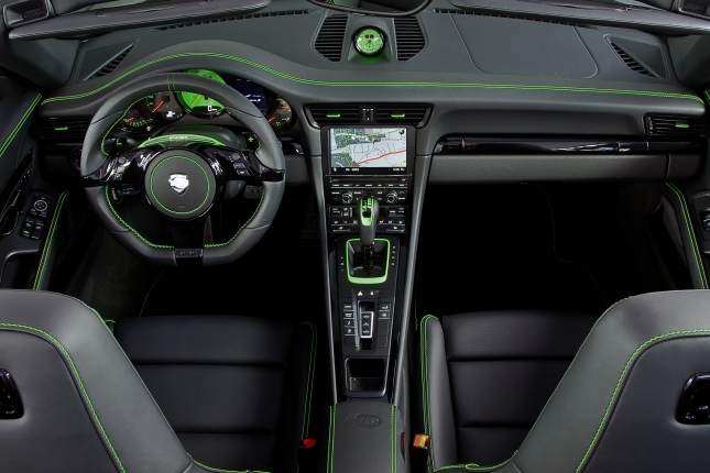 TECHART Carrera 4S Interior